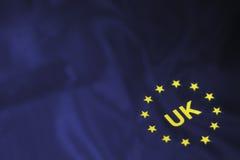 Flaga Europa gwiazdy Obrazy Royalty Free