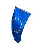 Flaga Europa odizolowywał Zdjęcie Stock