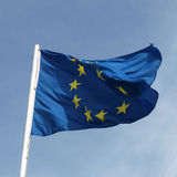 Flaga Europe Zdjęcia Stock