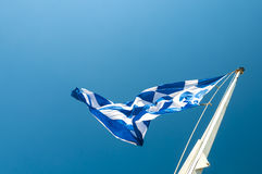 flaga Greece obrazy royalty free