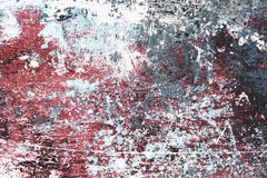 flaga grungy målarfärg Royaltyfria Bilder