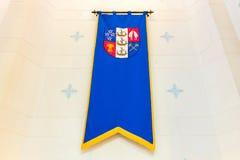 Flaga gubernatora generał Nowa Zelandia Fotografia Royalty Free