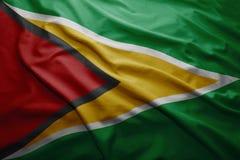 flaga Gujany Obrazy Royalty Free