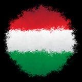 flaga Hungary krajowe Zdjęcia Stock