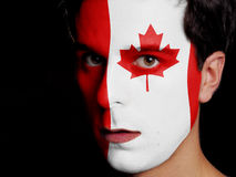 Flaga Kanada Zdjęcie Royalty Free
