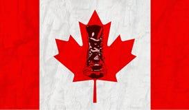 Flaga Kanada - zabawa Obrazy Stock