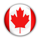 flaga kanady royalty ilustracja