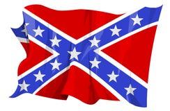 flaga konfederacyjnej serii Fotografia Stock