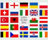 Flaga kraj Obraz Stock