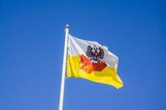 Flaga Krasnodar region Zdjęcia Stock
