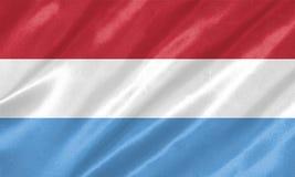 flaga Luxembourg ilustracji