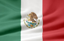 flaga Meksyku Zdjęcie Stock