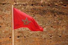 flaga Morocco Obraz Stock