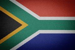 flaga na afryce Obrazy Stock