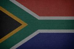 flaga na afryce Zdjęcie Stock