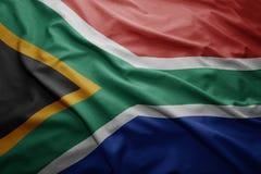 flaga na afryce Zdjęcie Royalty Free