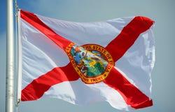 flaga na florydę Obraz Royalty Free