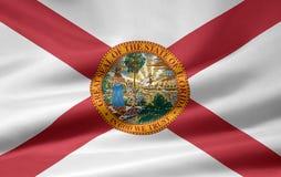 flaga na florydę royalty ilustracja