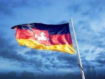 flaga Niemiec Obrazy Stock