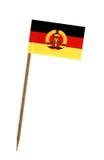 flaga Niemiec na wschód Obrazy Stock