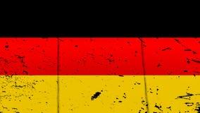 flaga Niemiec Patriotyczny stary grunge rocznika tekstury t?o elementy projektu podobie?stwo ilustracyjny wektora royalty ilustracja
