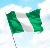 flaga Nigeria ilustracja wektor