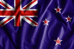 Flaga Nowy Zeland fotografia stock