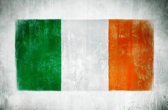 Flaga państowowa Irlandia zdjęcia royalty free