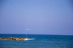 Flaga państowowa Izrael Zdjęcia Royalty Free