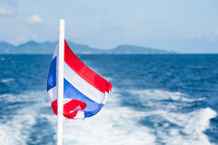 Flaga państowowa Tajlandia Fotografia Stock