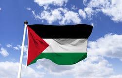 Flaga Palestyna, organizacja dla wyzwolenia Palestyna zdjęcie royalty free