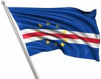 Flaga przylądek Verde ilustracji