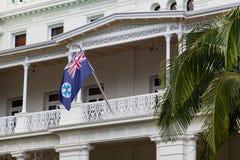 Flaga Queensland zdjęcie stock