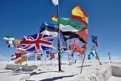 Flaga różnorodni narody, Boliwia Obraz Royalty Free