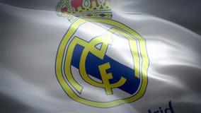 Flaga Real Madrid zbiory wideo