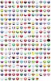 FLAGA świat Zdjęcie Stock