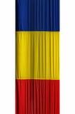 flaga romanian Obrazy Royalty Free
