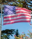 Flaga Stany Zjednoczone Ameryka, często nawiązywać do A jako Fotografia Stock
