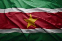 Flaga Suriname Obrazy Stock