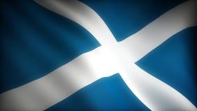 Flaga Szkocja ilustracja wektor