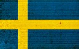 flaga Szwecji ilustracji