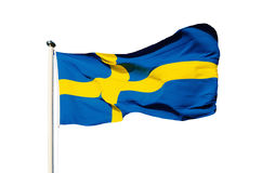 flaga Szwecji Zdjęcia Royalty Free