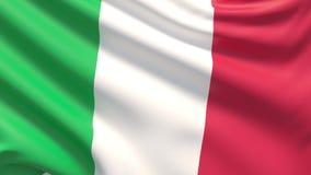 Flaga Włochy, często odnosić sie jako Włoska flaga zbiory wideo