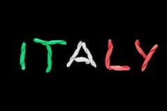 flaga Włochy Fotografia Royalty Free