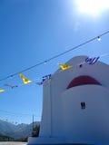 Flaga w wiatrze zdjęcie royalty free