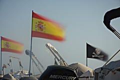 Flaga w wiatrze 4 Zdjęcie Royalty Free