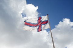 flaga wysp owczych Obraz Stock