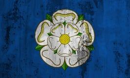 Flaga Yorkshire Zdjęcie Stock