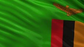 Flaga zambiowie - bezszwowa pętla
