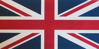 flaga Zjednoczone Królestwo aka Union Jack (UK) Obraz Royalty Free